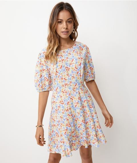 MINI TEA DRESS