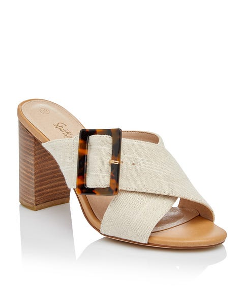 RITA TORT BUCKLE CROSS OVER HEEL