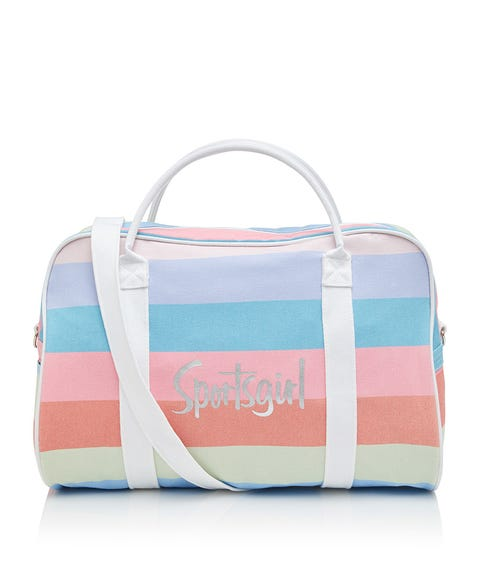 BRIGHT STRIPE DUFFLE BAG