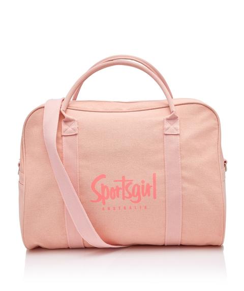 PRETTY IN PINK DUFFLE BAG