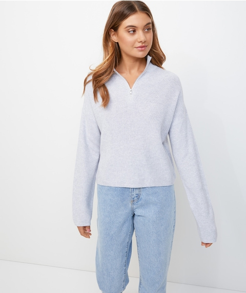 ZIP FRONT JUMPER