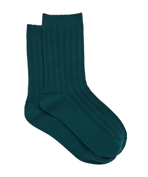 FOREST GREEN BACK TO BASICS SOCK