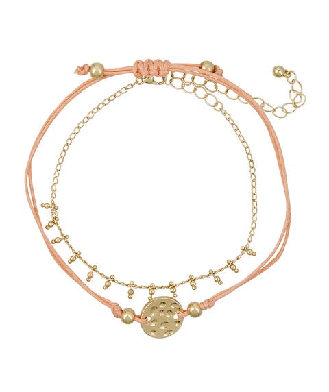 PRETTY PEACH THREAD WRIST PACK