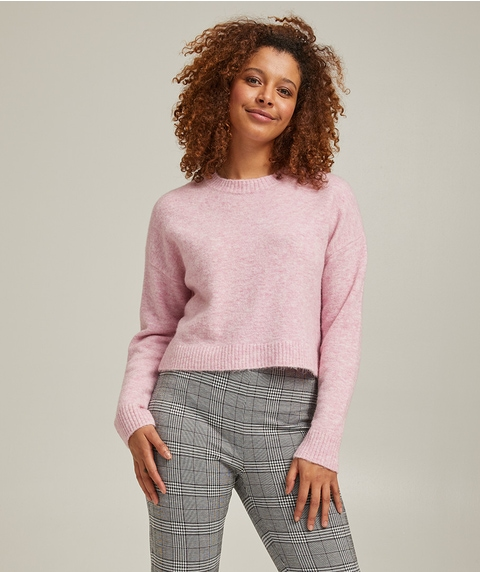COSY CROPPED JUMPER