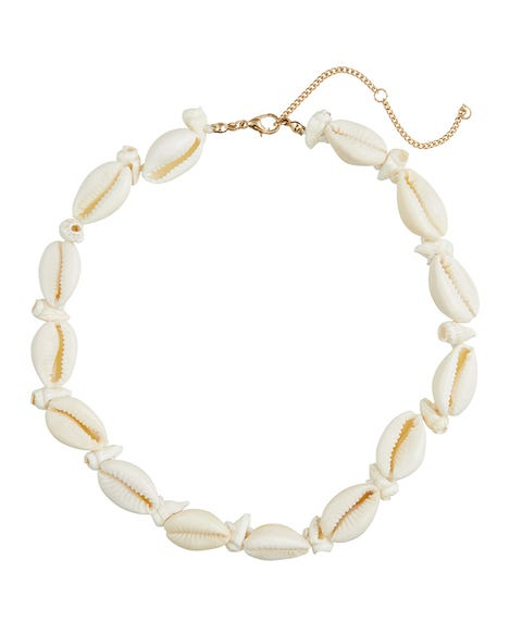 NATURAL COWRIE SHELL CHOKER