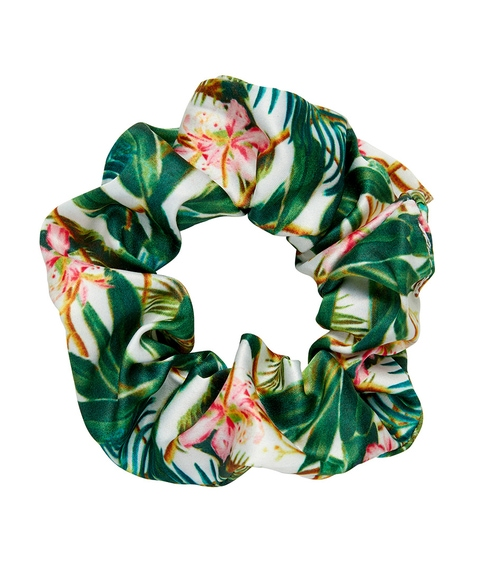 PALM PRINT SCRUNCHIE