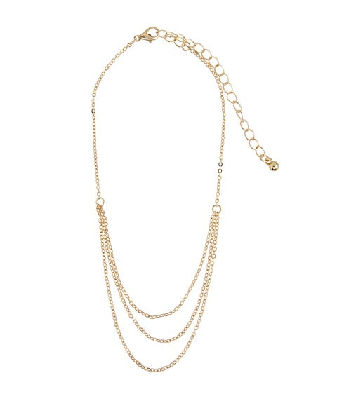 GOLD LAYERED CHAIN ANKLET