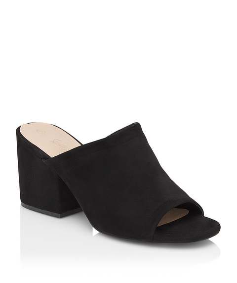 AINSLEY BLOCK MULE HEEL