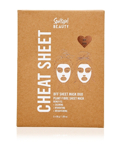 CHEAT SHEET BFF DUO - ECO FRIENDLY SHEET MASK