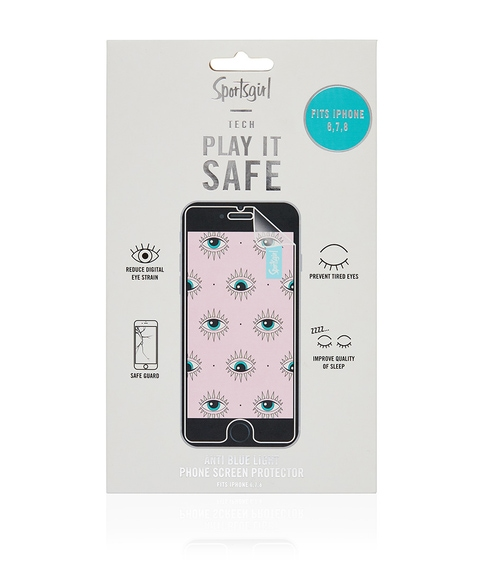 PLAY IT SAFE - BLUE LIGHT BLOCKING IPHONE 6,7,8