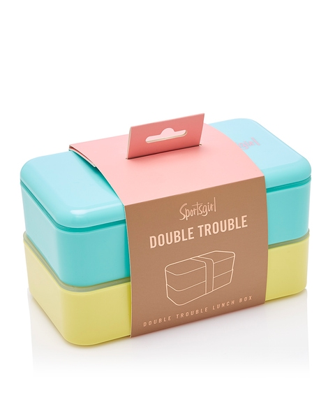 DOUBLE TROUBLE LUNCH BOX