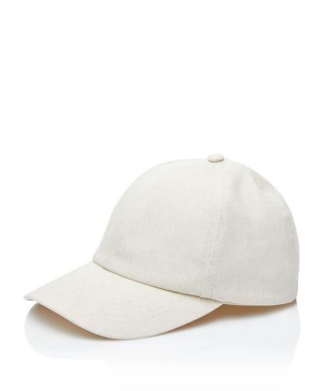 NATURAL LINEN CAP