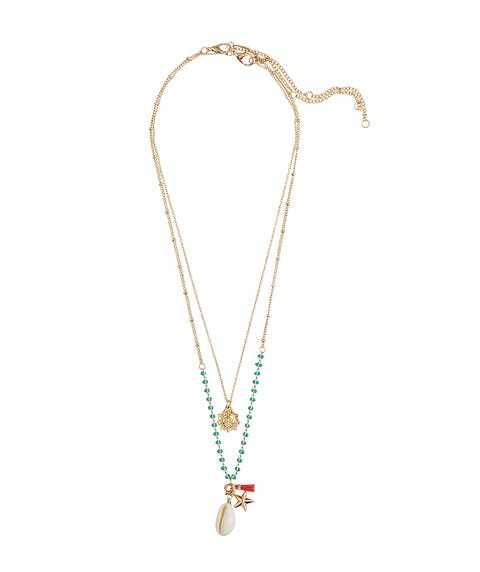 SUN & COWRIE SHELL NECKLACE PACK