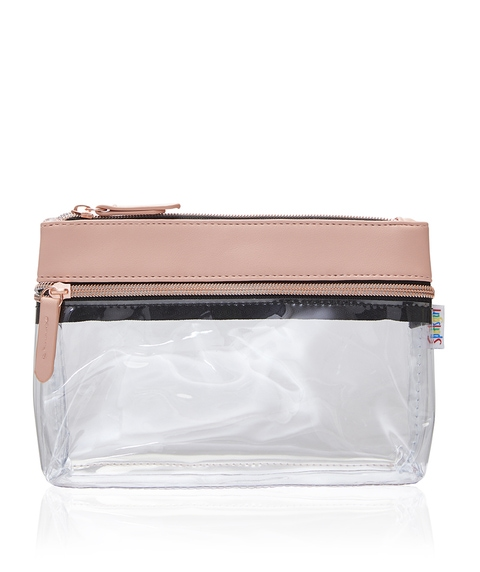 KENDALL BEAUTY BAG - BLUSH