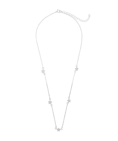 SS STATIONED STAR NECKLACE