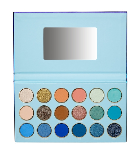 STARS IN HER EYES – MIAMI BLUE EYESHADOW PALETTE