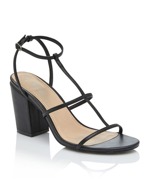 CARLY T-BAR STRAPPY HEEL
