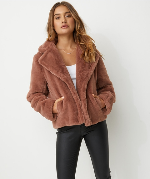ELEVATED FUR JACKET