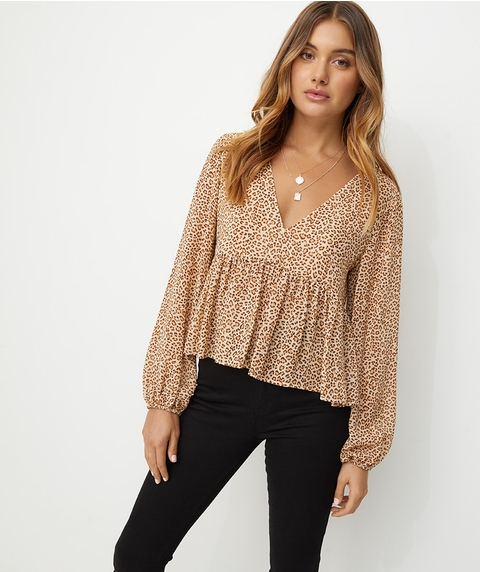 SOFT SHEER BLOUSE