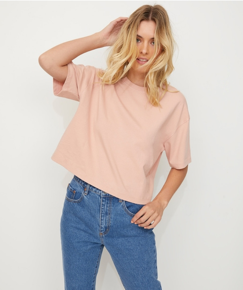 ORGANIC COTTON BOXY TEE