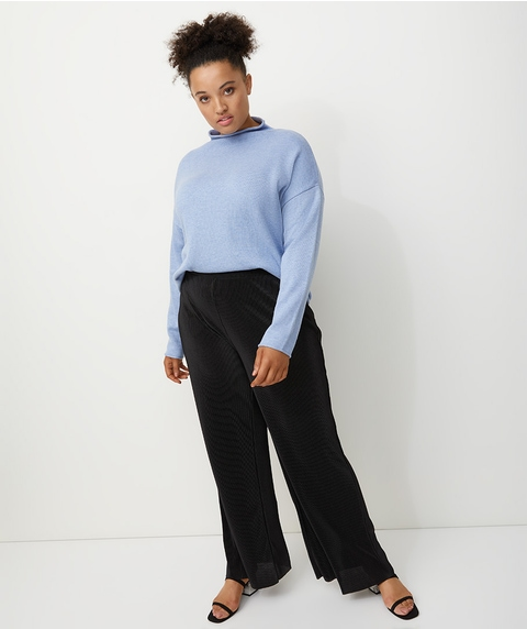 SLOUCHY HIGH NECK JUMPER