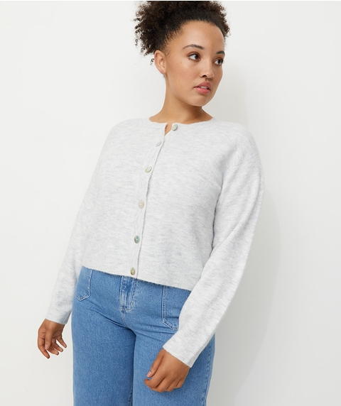COSY BUTTON FRONT CARDI