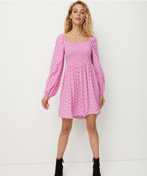 MILKMAID MINI DRESS