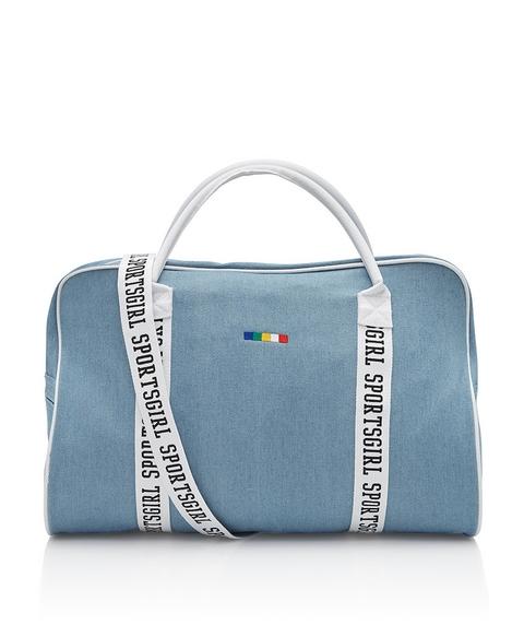 SPORTSGIRL WEBBING DUFFLE BAG