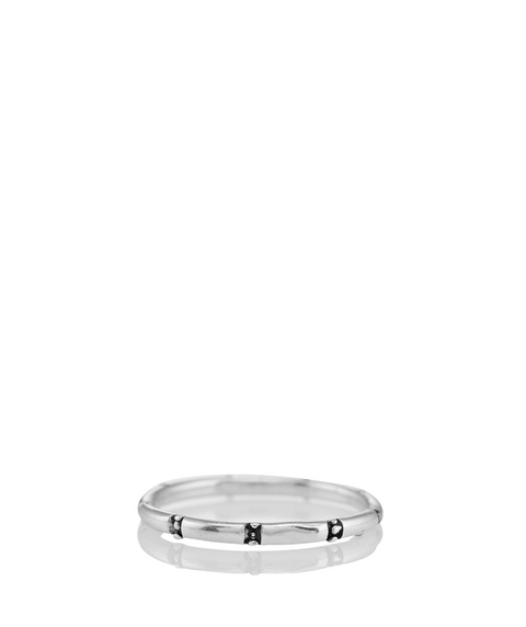 SS PLAIN ETCHED RING