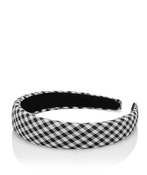 GINGHAM ALICE HEADBAND
