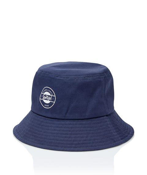 SPORTSGIRL NAVY BUCKET HAT