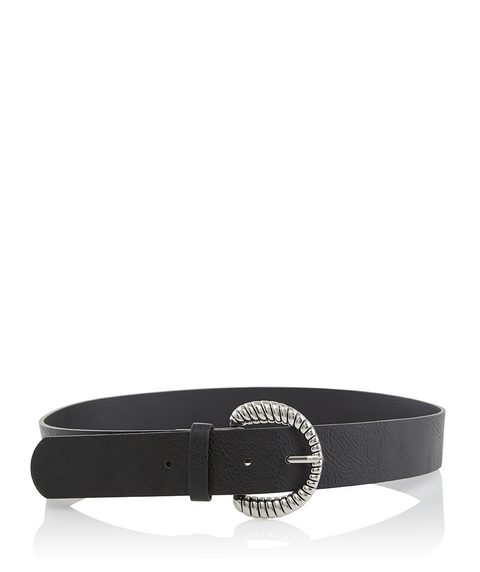TWISTED ROPE BUCKLE BELT