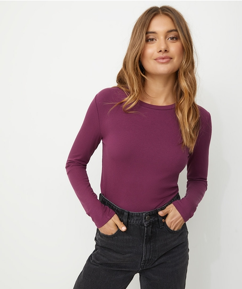 FITTED LONGSLEEVE TOP
