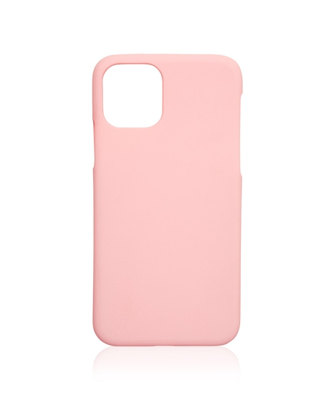 XS/11P PINK PLAIN PHONE CASE