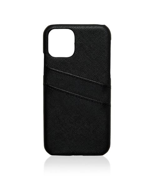 XS/11P SAFFIANO CARD HOLDER PHONE CASE
