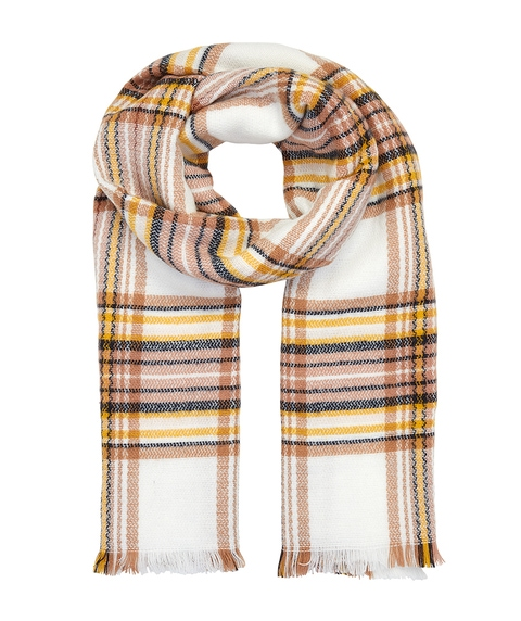 CREAM CHECK IT OUT SCARF