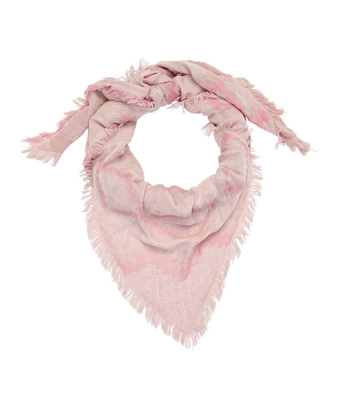 PINK ARROW SCARF