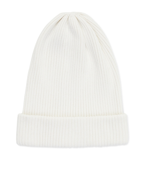 BASIC CREAM BEANIE