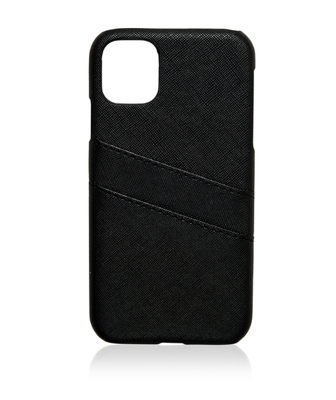 XR/11 SAFFIANO CARD HOLDER PHONE CASE