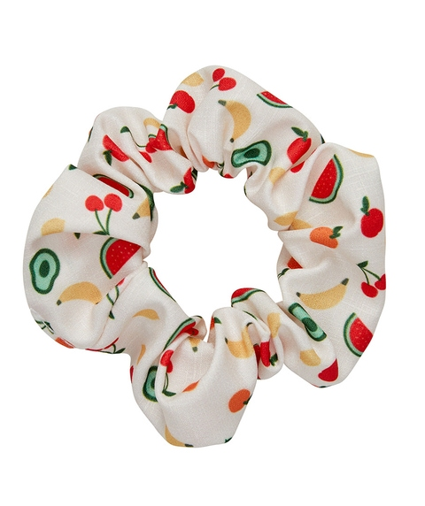FRUIT SALAD SCRUNCHIE