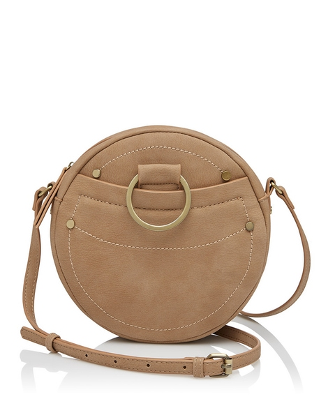 ELEANOR RING DETAIL SLING BAG
