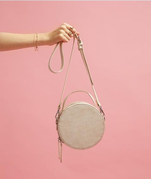 VIVIENNE CROC CIRCLE SLING BAG
