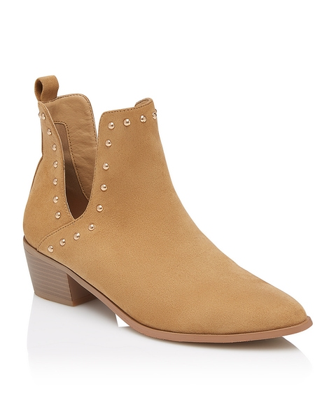 LYLA CUT OUT STUDDED BOOT