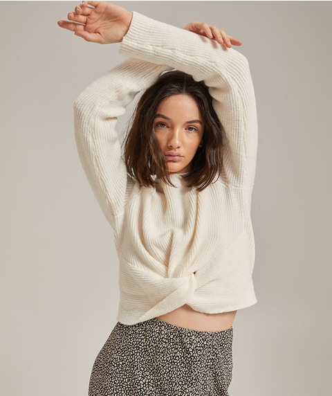 COSY KNOT FRONT JUMPER