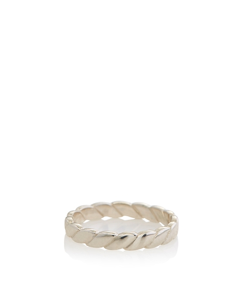 SS CHAIN DETAIL RING