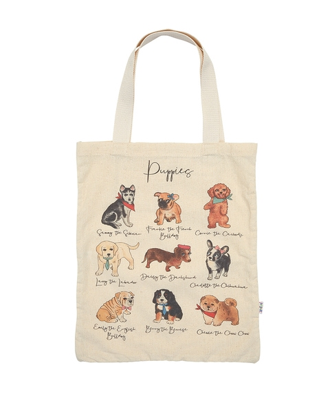 ECO TOTE - PUPPIES