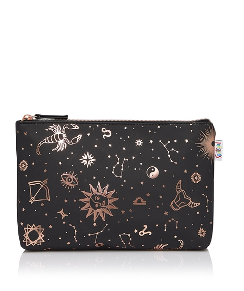 ASTROLOGY SINGLE ZIPPER BEAUTY BAG