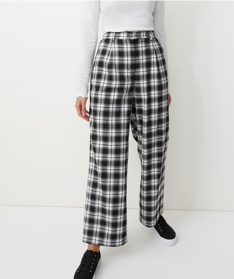 FULL LENGTH CHECK PANTS