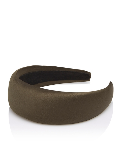 KHAKI WIDE HEADBAND