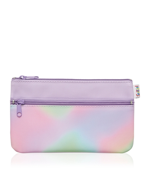 ELECTRIC FEELS DOUBLE ZIPPER BEAUTY BAG